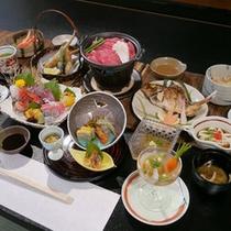 季節の会席料理をご堪能ください。