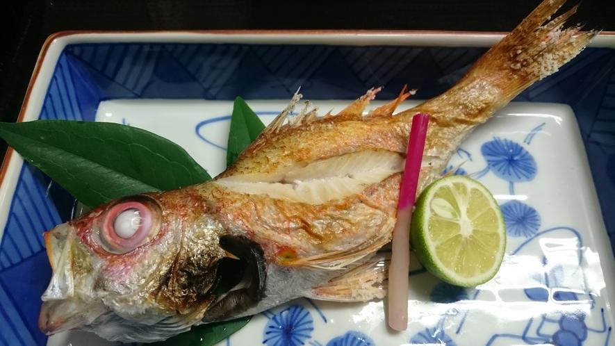 高級魚ノドグロ塩焼き
