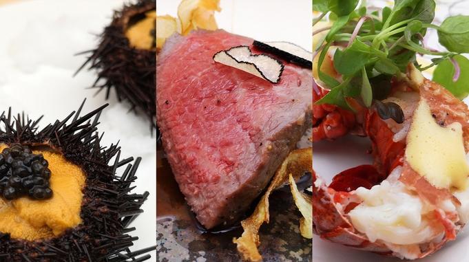 ◆フレンチ「Luxury」2食◆<個室食>美食×アートを愉しむ贅の極み。厳選食材を使った最上級コース