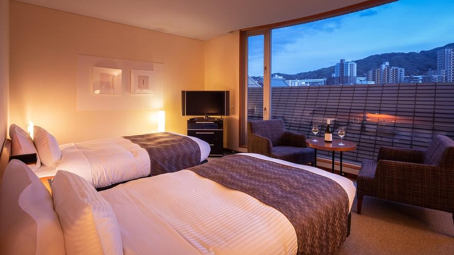 ■CHIGUSA suite:ベッドルーム■