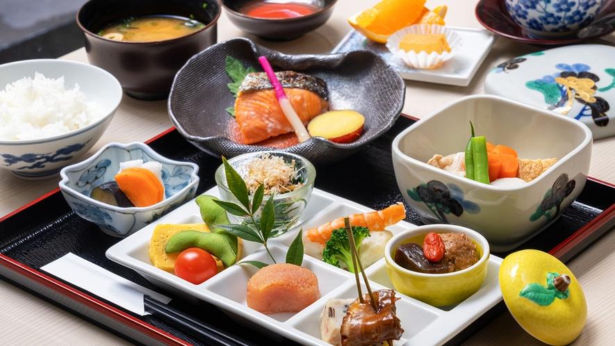 """【和朝食】割烹時代より培われた""""優しい味わい"""""""