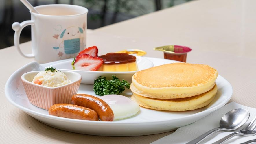 【お子様用洋朝食】ボリューム抜群の朝ごはんで朝から元気チャージ!