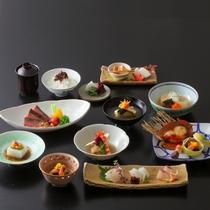【夕食】千草特別会席。せっかくの旅の夜はちょっと贅沢に。