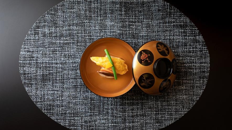 【和会席‐千草】「小河豚の黄身煮椀」メニュー一例
