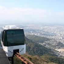 【周辺】皿倉山スロープカー(10~18時※土日祝は22時)