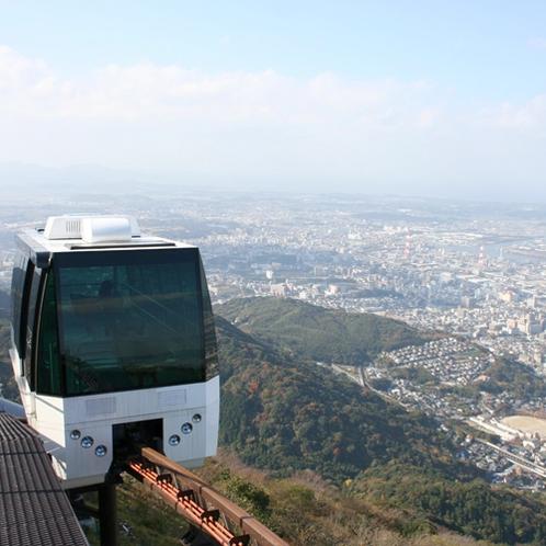 【周辺】皿倉山ケーブルカー(10~18時※土日祝は22時)