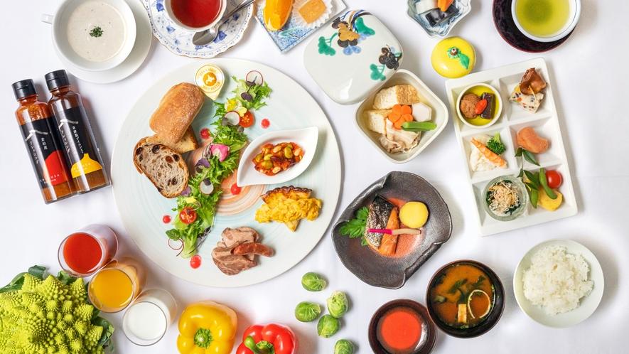 【ご朝食】おひとり様ずつ「和or洋」をお選びいただけます。