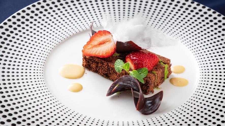 <フレンチ‐スタンダード>【フランス産チョコレートのプレッセ】メニュー一例