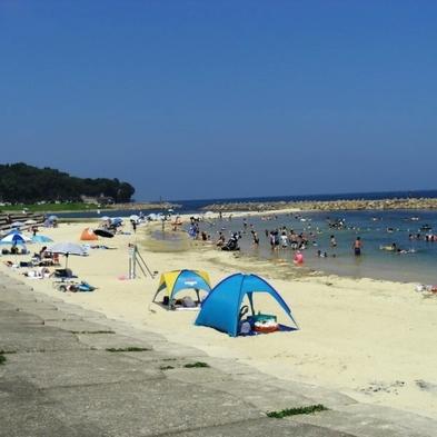 【夏休み・お子様歓迎】宿から海まで水着でらくらく移動♪荷物は宿!身軽なのがイイ《1泊2食付》