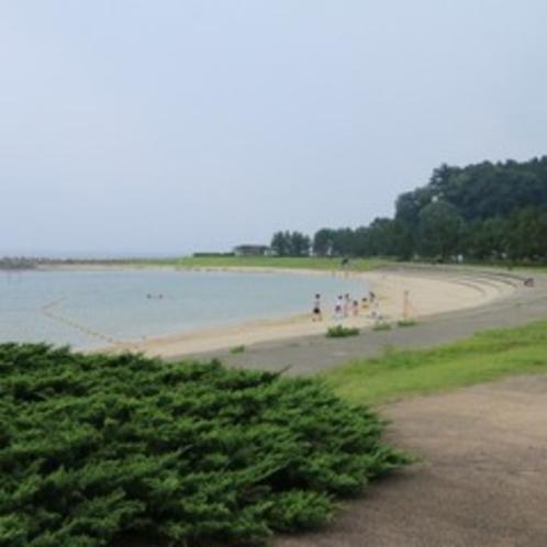 小境海岸まで徒歩で3分ほどです