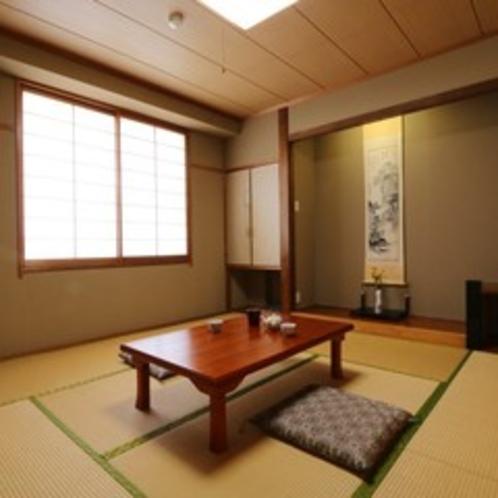 ☆和室8畳のお部屋になります