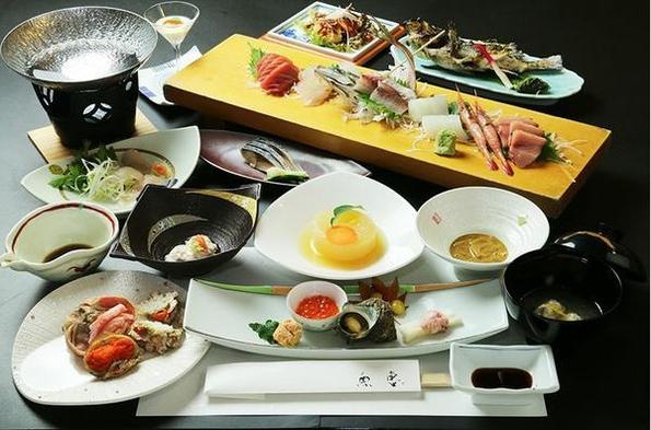 【氷見おすすめコース】贅沢な極上料理 一泊二食付き宿泊プラン