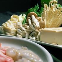【鍋の野菜(イメージ)】食材は、各自でご購入下さい。