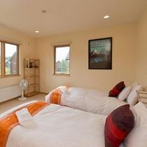 **【スタンダードAtsuma(3ベッドルーム)】室内はかわいらしいユニークなデザイン♪
