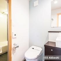 【2ベットルームコテージ】/バスルーム(一例)