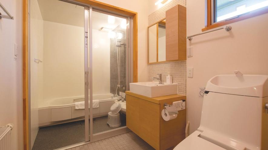 【ヨウテイ3LDK】バスルーム(一例)