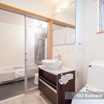 【3ベットルームコテージ】/バスルーム(一例)