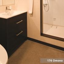 【5ベットルームコテージ】/バスルーム(一例)
