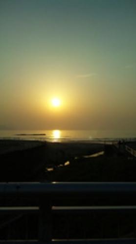 日本の夕陽百選に選ばれた夕陽