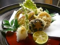 熱々の天ぷら