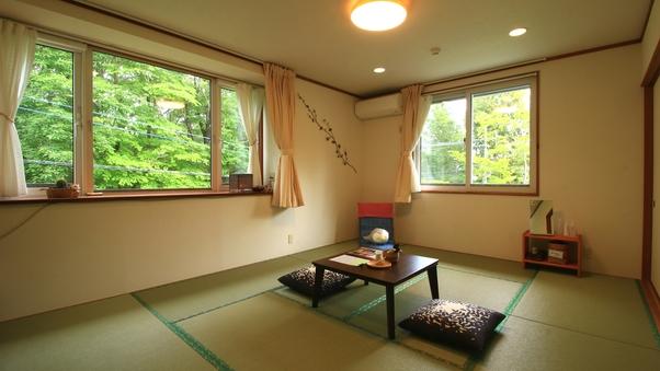[204]洋風畳のシンプル和室*トイレ&洗面台付*禁煙