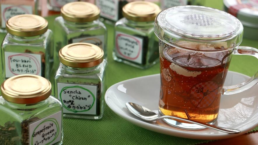 夕食_紅茶は数種類の中からご自由にお選びいただけます!