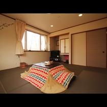 【204】和室10畳 選べる西川ムアツふとん&枕 + 洗面台付