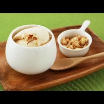 夕食_那須で有名な『アイス工房ももい』のジェラート付!