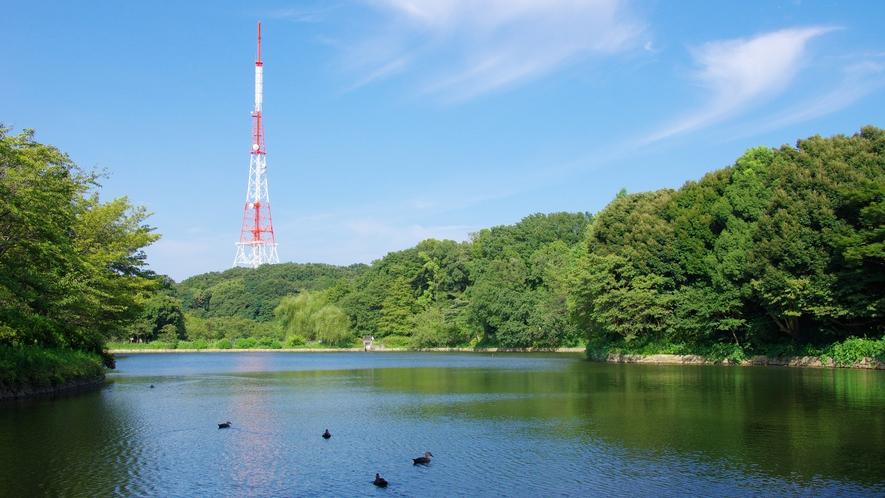 【観光】県立三ツ池公園