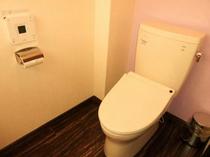 個室タイプの共同トイレです