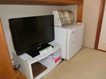テレビと冷蔵庫がございます