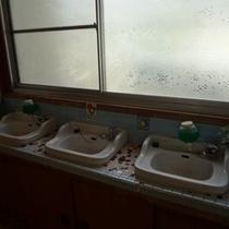 懐かしい洗面台★