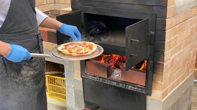 【日帰り】でピザ釜を使ってピザ焼き体験&レンタサイクルプラン!サイクリングや大浴場でゆったり入浴♪