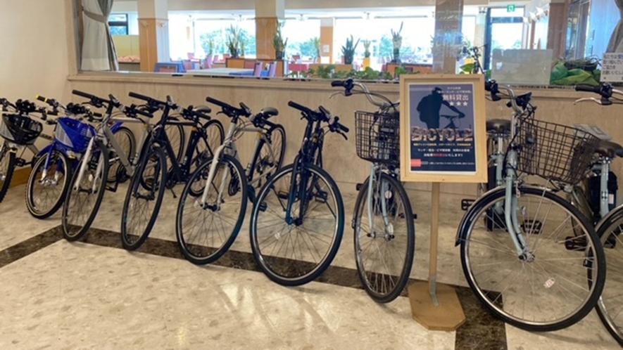 ホテル利用者は無料で自転車レンタルOK!サイクリングで国東をまわってみませんか?