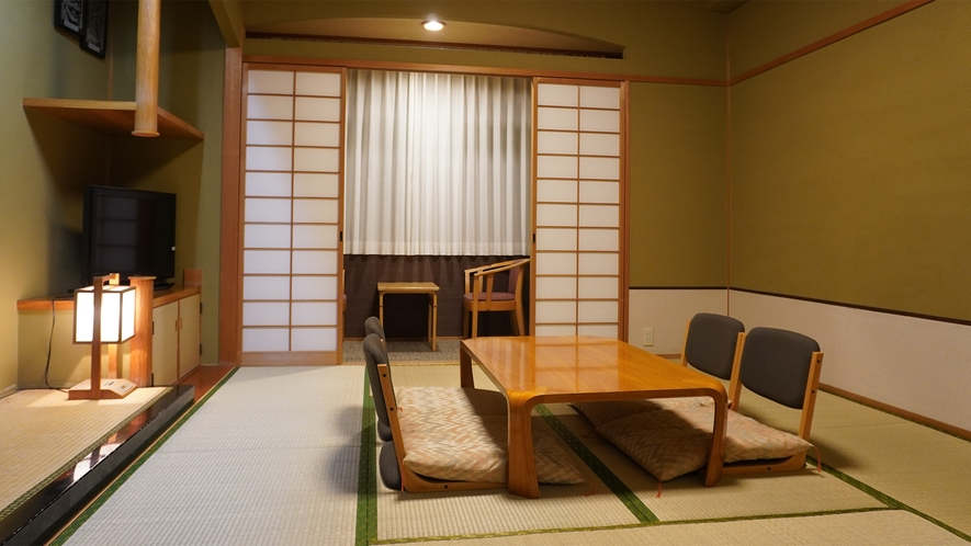 【和室10畳】お子様~シニア世代まで老若男女に人気のお部屋