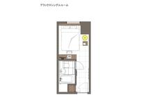 ◆SUPERIOR DXシングルルーム(見取図)