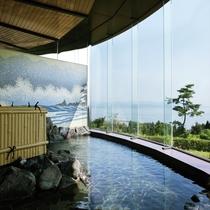 大浴場「ゆさら」の岩風呂