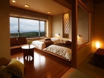 最上階「天の庭」 和洋室の雰囲気