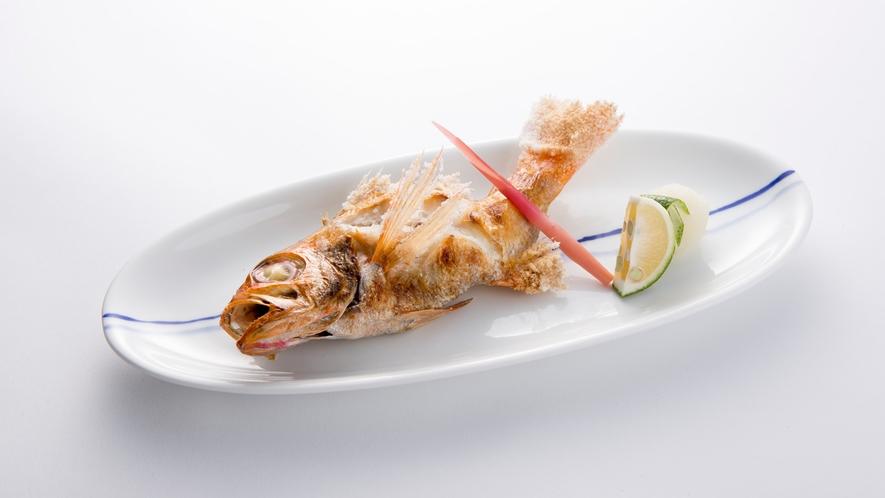 魚神_のどぐろの塩焼き