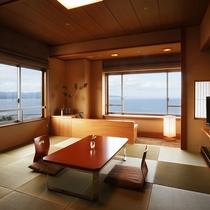 最上階「天の庭」 和室の一例