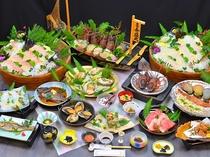 大漁海女の春宴コース