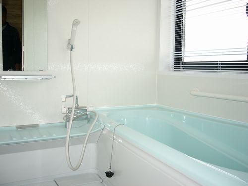 ログハウス内風呂