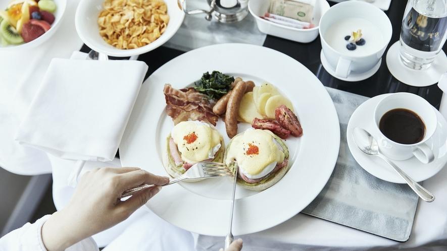 1日が輝きだすような美味しい朝食をご堪能ください。