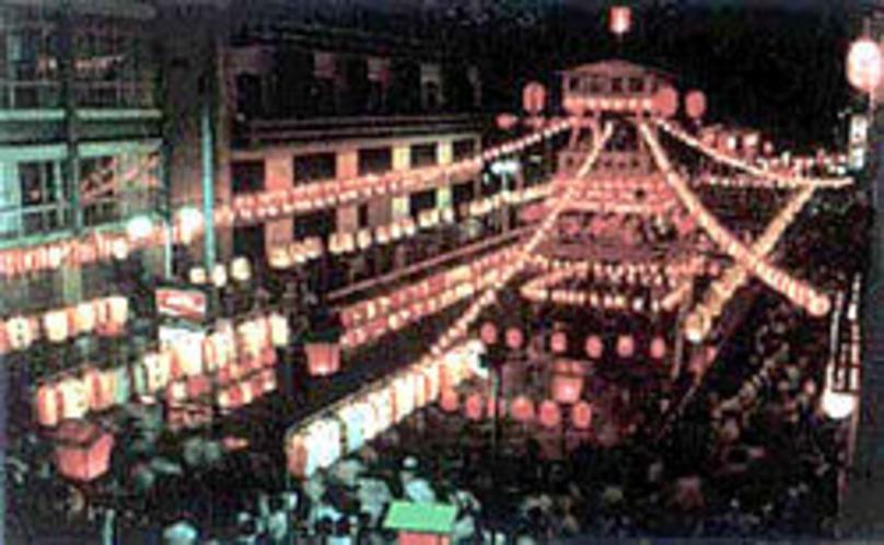 東山温泉盆踊り
