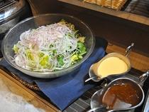 【朝食】お野菜たっぷりですっきりと!