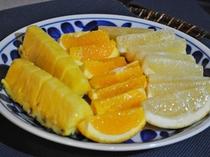 【朝食】爽やかなフルーツ