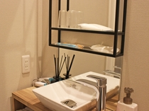 【和室】おしゃれで清潔感のある洗面室