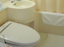 【バス・トイレ】シャワー洗浄トイレ完備