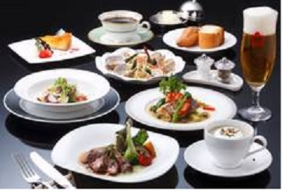 ★ホテル自慢の洋食ディナー+朝食付プラン