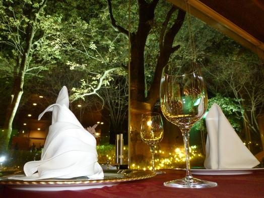 夏の宿泊プラン『旬菜会席』森のリゾート満喫 夕・朝食付き